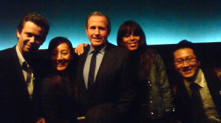 モンサンミッシェル、エリック市長と東京で!